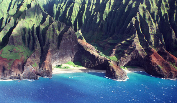 Image of the Napali Coast