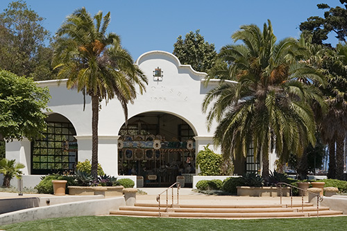Image of the Santa Barbara Carousel
